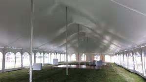 40x120 pole tent under