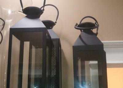Black Lanterns 21 inch and 17 inch